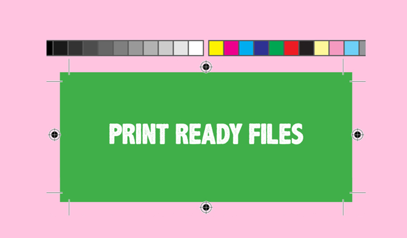 What is a print ready file