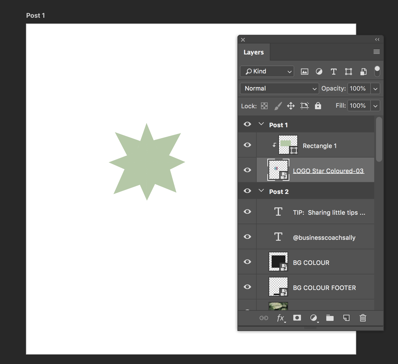 Change colour with smart object layer