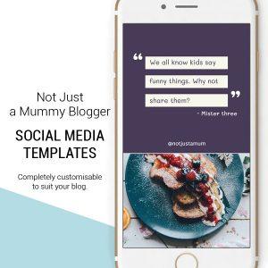 Blogger Instagram templates