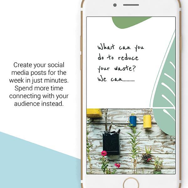 Eco social media posts