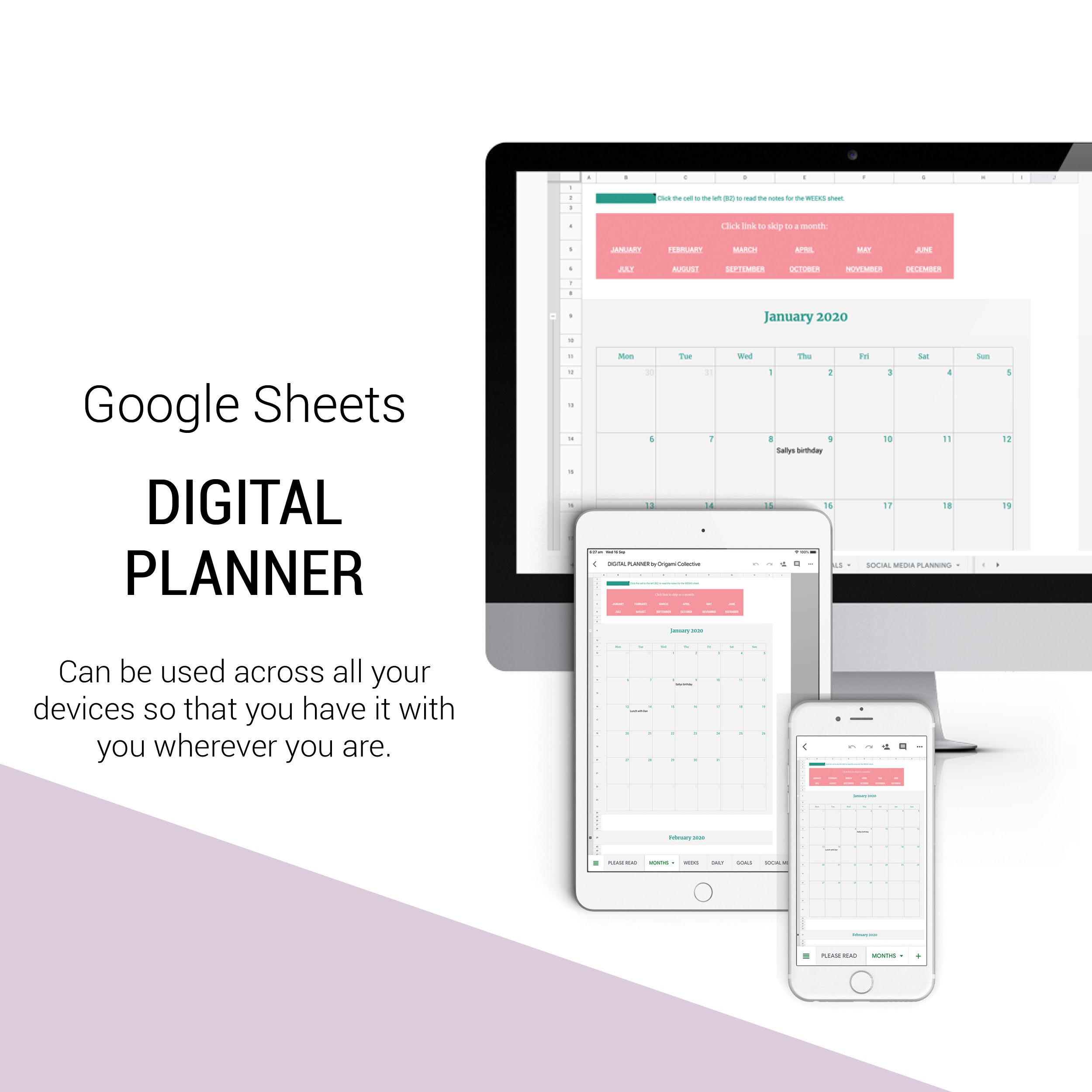 Digital Business Planner